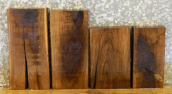 4- Black Walnut Kiln Dried Rustic Lumber Boards/Craft Pack LSWS06 5914-5917