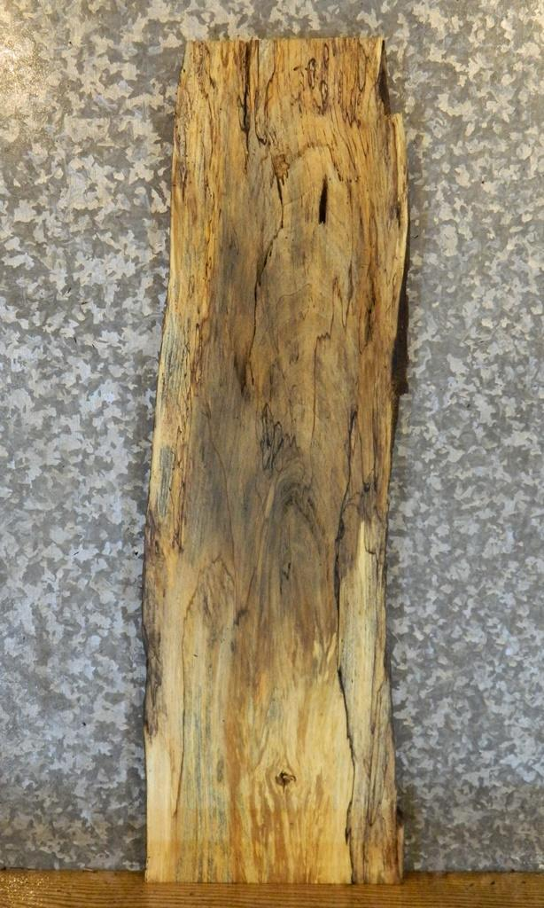 Reclaimed Live Edge Spalted Maple Side/End/Sofa Table Top Slab 672