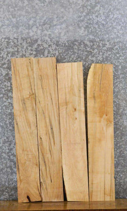 4- Kiln Dried Ambrosia Maple Salvaged Craft Pack/Lumber Boards 7313