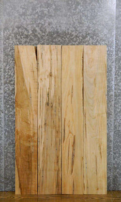 4- Boxelder Kiln Dried Salvaged Craft Pack/Lumber Boards LSWS17 7547-7550
