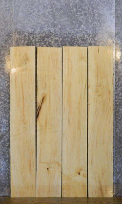 4- Kiln Dried Boxelder Rustic Lumber Boards/Craft Pack LSWS17 7567-7570