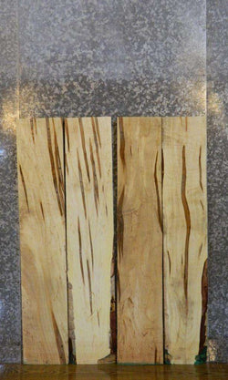 4- Ambrosia Maple Salvaged Kiln Dried Lumber Boards LSWS15 7587-7590