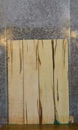 4- Salvaged Ambrosia Maple Kiln Dried Lumber Boards LSWS15 7599-7602