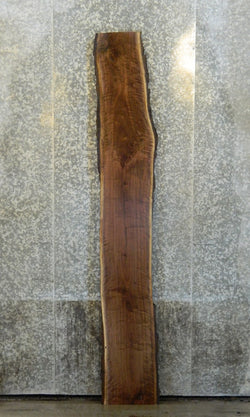 Salvaged Live Edge Bark Black Walnut Bar Top Slab AF2 890