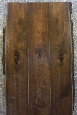 3- Live Edge Bookmatched Black Walnut Dining Table Top DD1-5,5 965-967