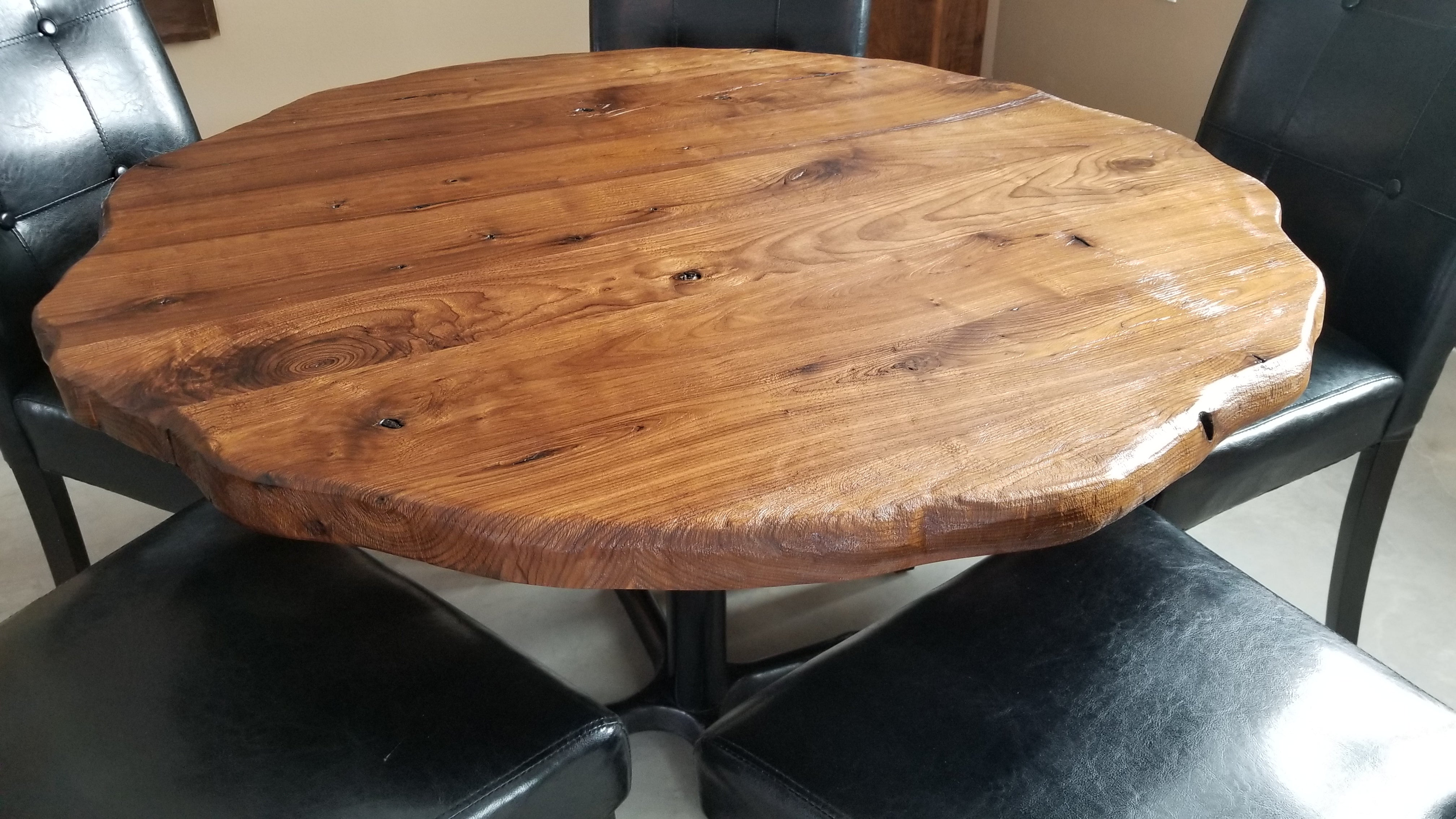 finished wood table tops