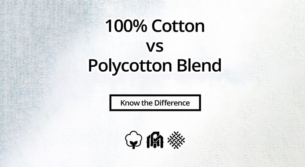 100% Cotton T-Shirts vs Polycotton T-Shirts