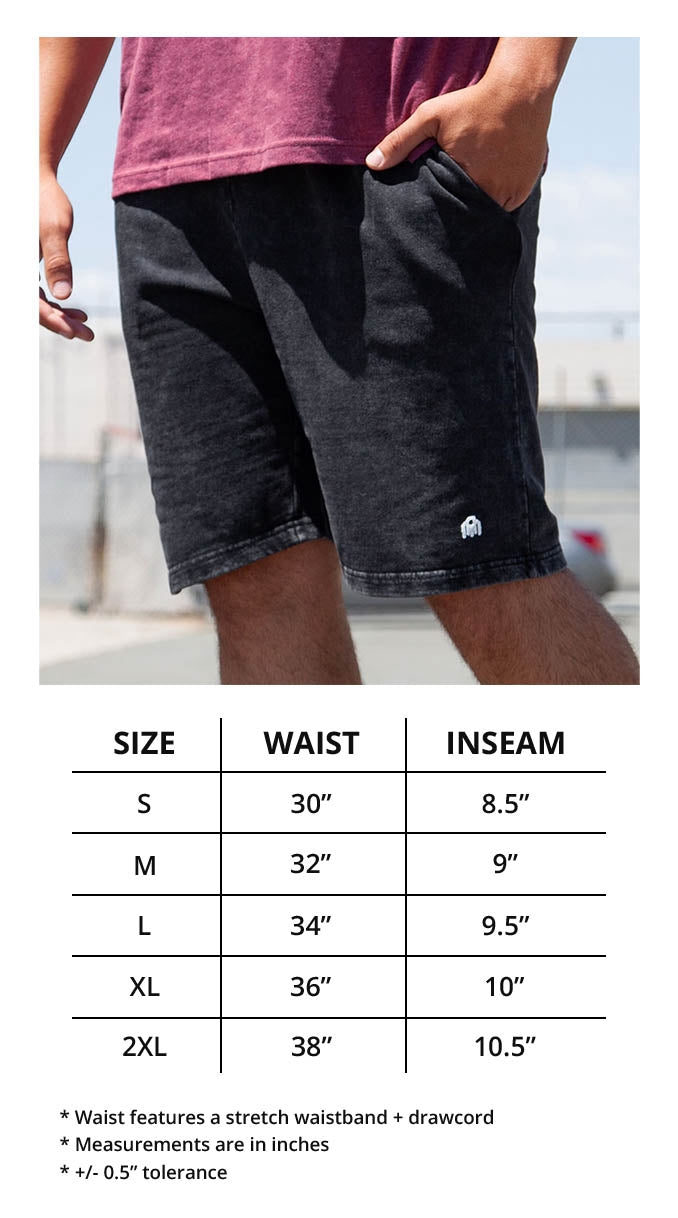 Men's Shorts Fit-46 Size Chart