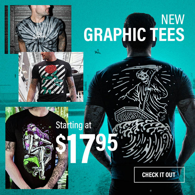 $17.95 New Graphic Tees 3/30
