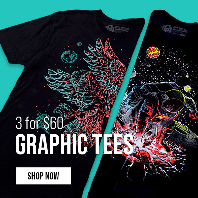 3 for $60 Graphic Tees 5/10