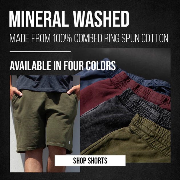 Mineral Washed Shorts 5/25