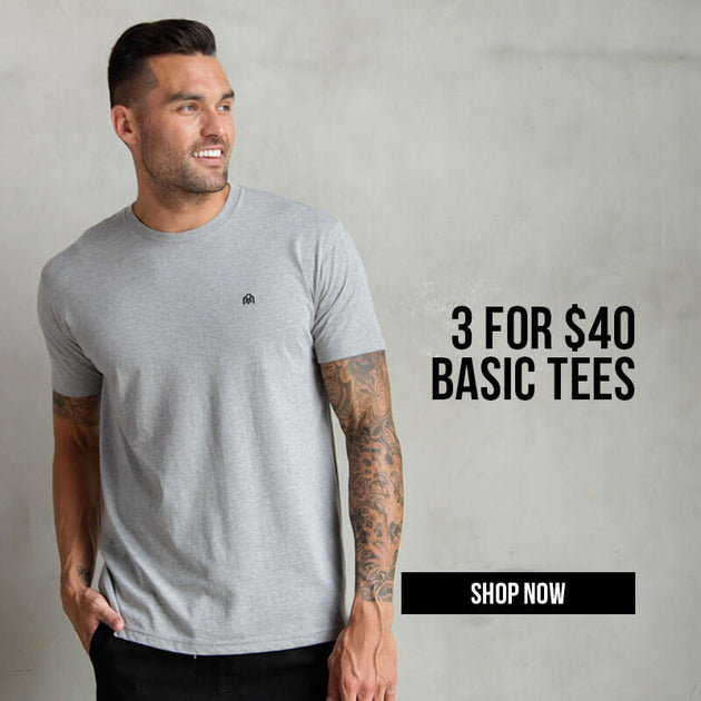 3 for $40 Basic Tees & Tanks 9/18