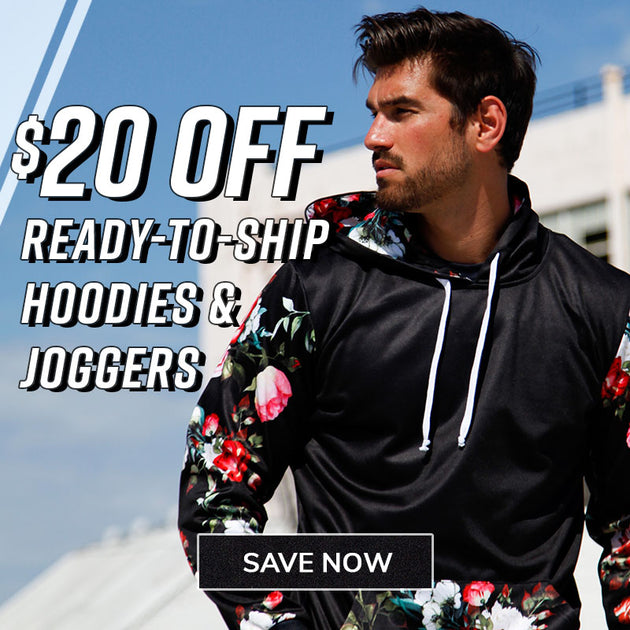 $20 Off RTS Hoodies & Joggers