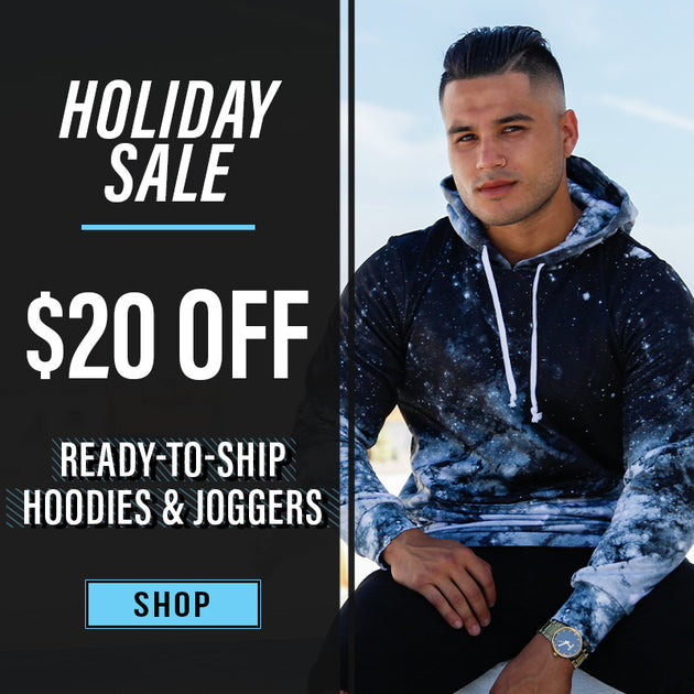 $20 off Hoodies & Joggers