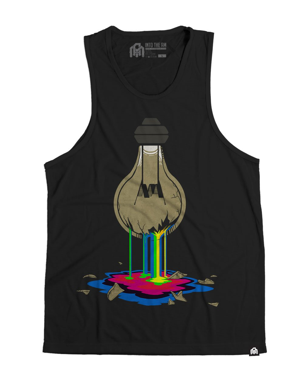Bleeding Bulb Men's Tank Top-Front