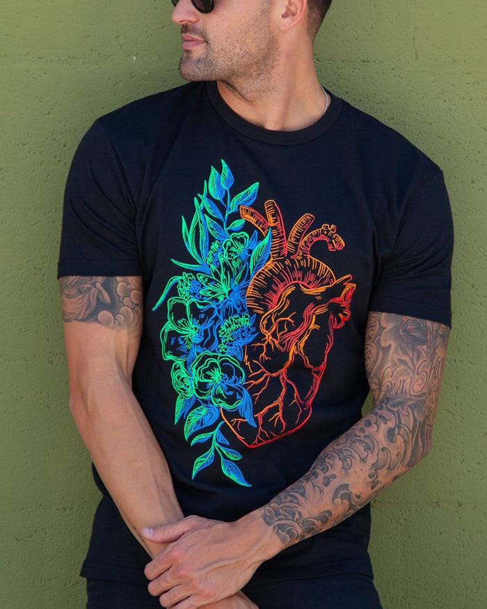 Blooming Soul Men's Tee-Lifestyle--Zach---L