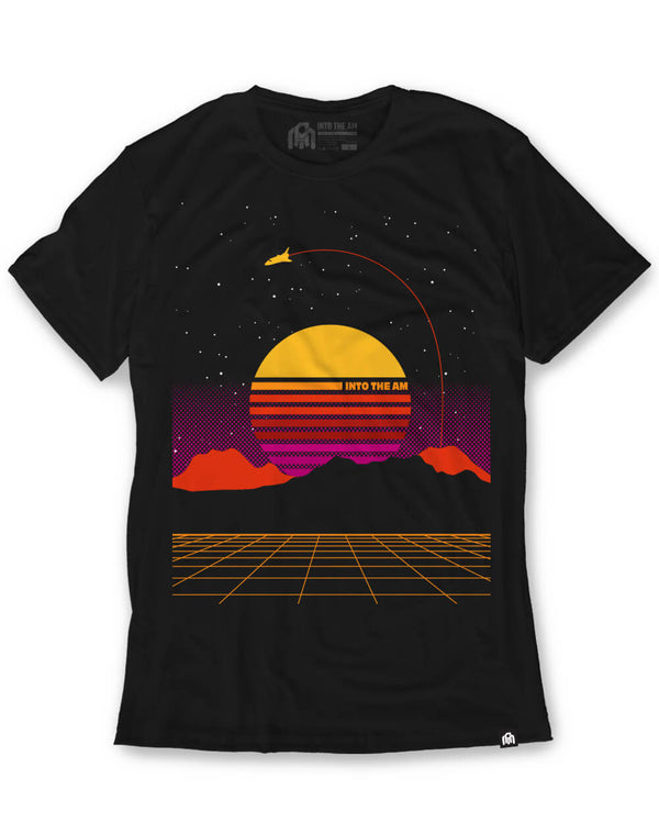 Digital Space Men's Tee-Front