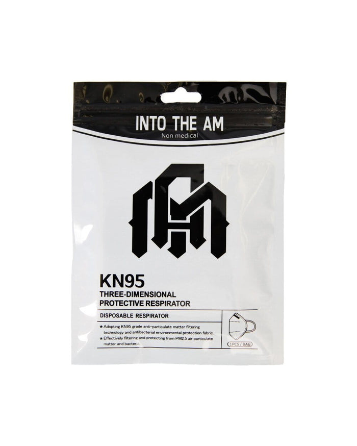 INTO THE AM Disposable Face Mask-Package-Front