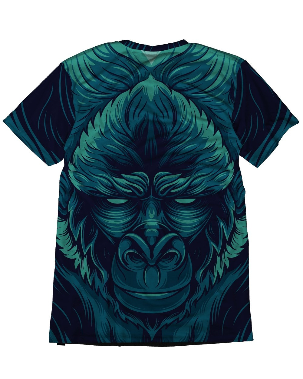 Kong Men's All Over Print Tee