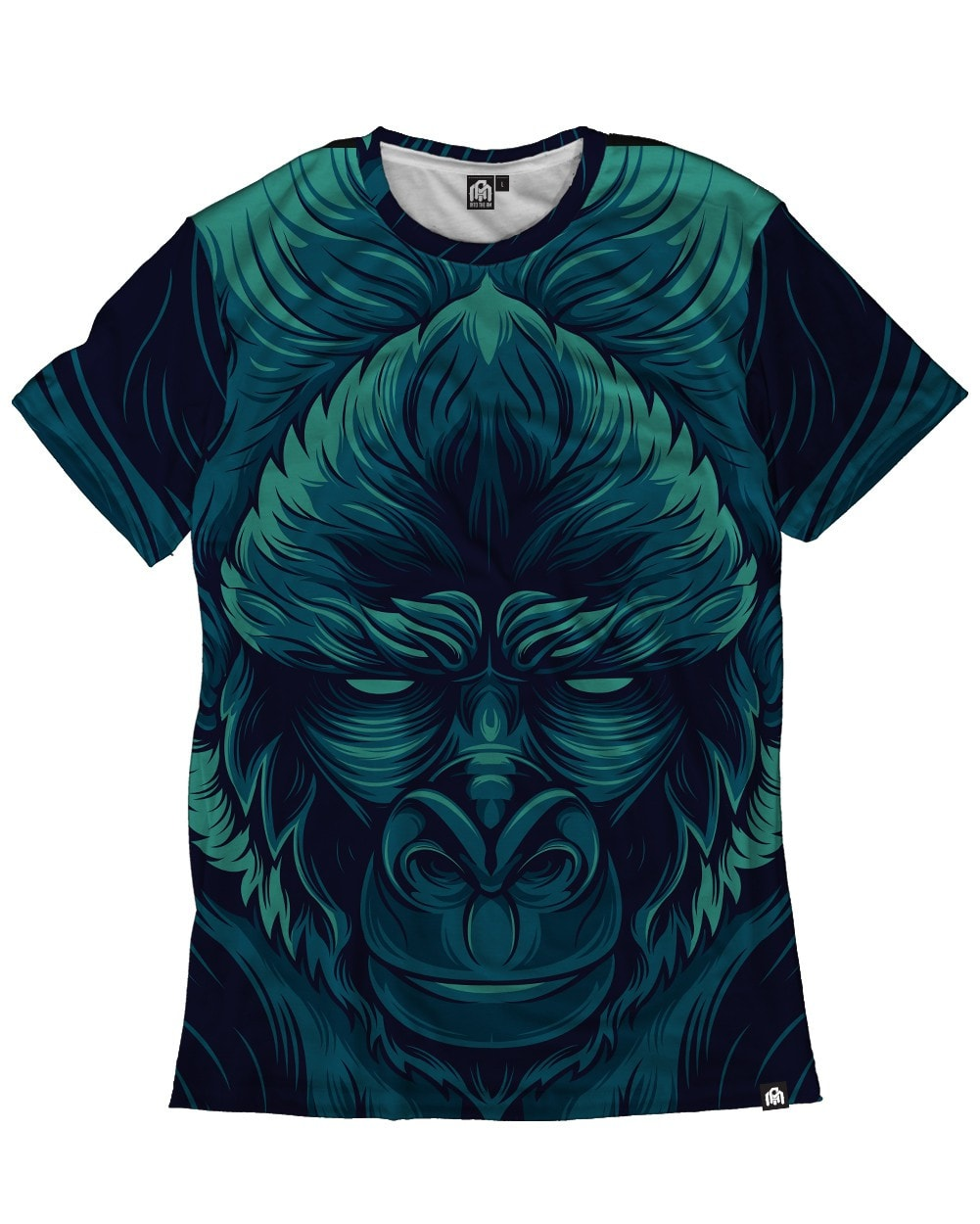 Gorilla All Over Print Shirt