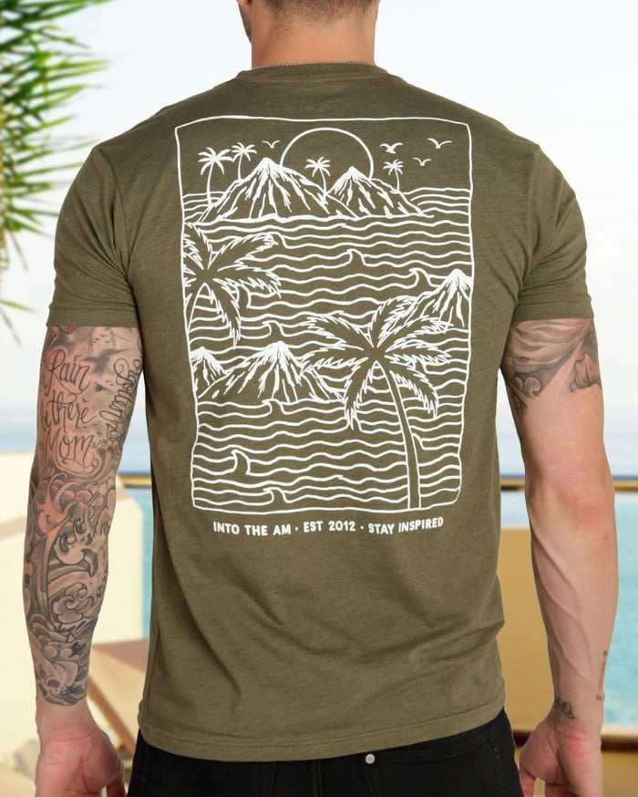 Summer Islands Men's Tee-Lifestyle--Zach---L
