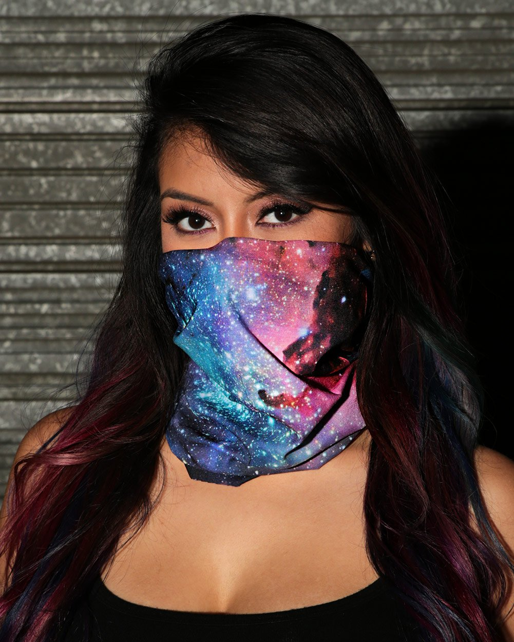 Milky Way Seamless Mask Bandana-Lifestyle2
