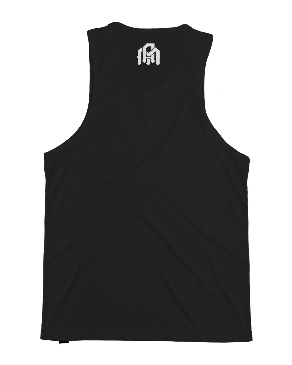 Moon Balloon Men's Tank Top-Black-Back