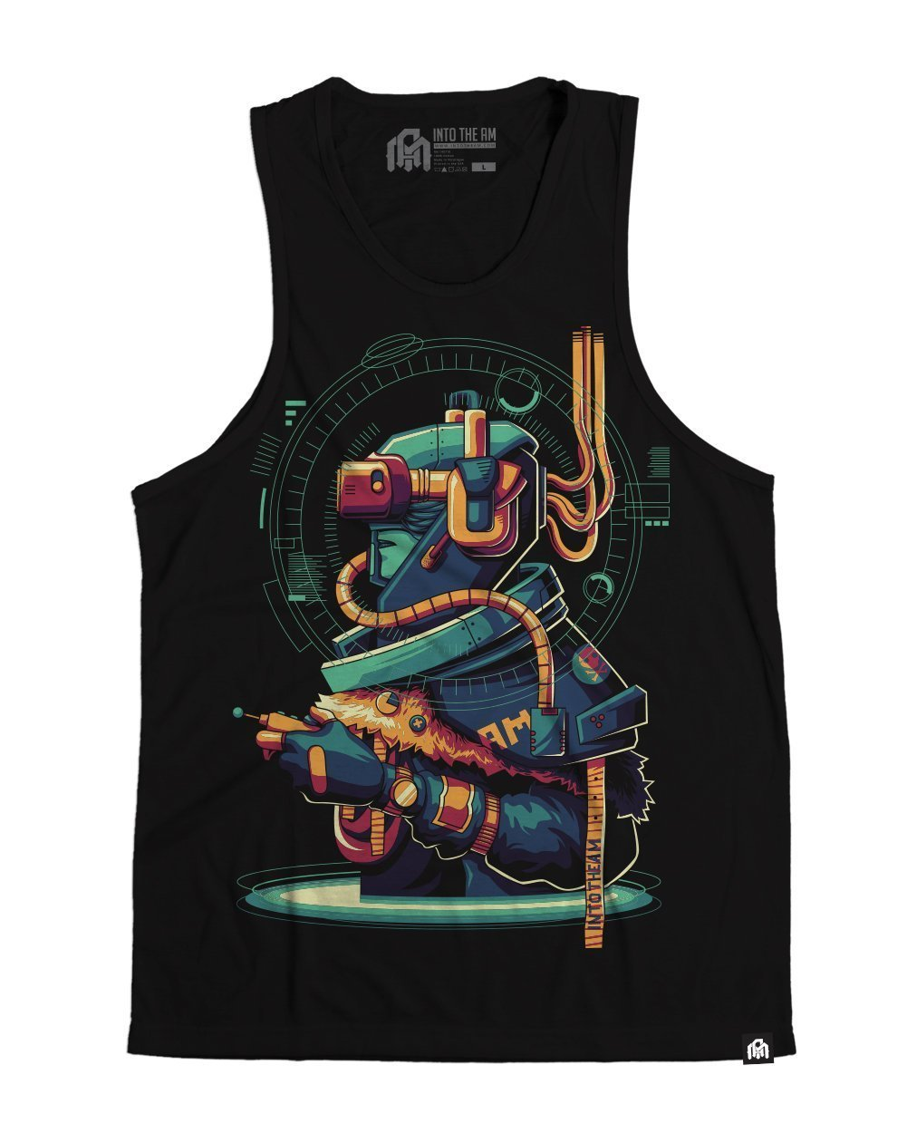 Player Zero Men's Tank Top - Front