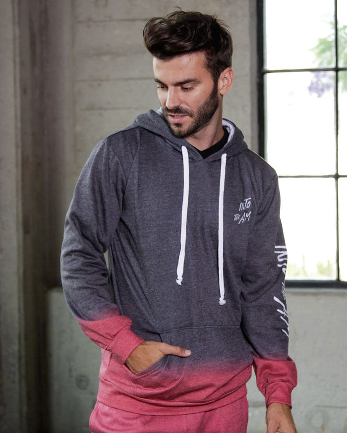 Red Horizon Men's Pullover Hoodie-Lifestyle--Ajdin---L