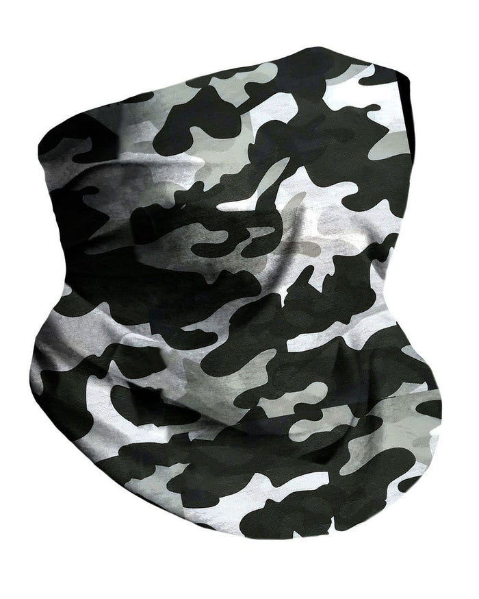 Black Camo Seamless Mask Bandana