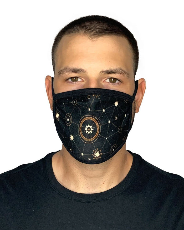 Star Search Face Mask-Male-Front