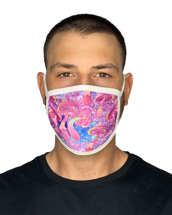 Trip Buddies Face Mask-Male-Front