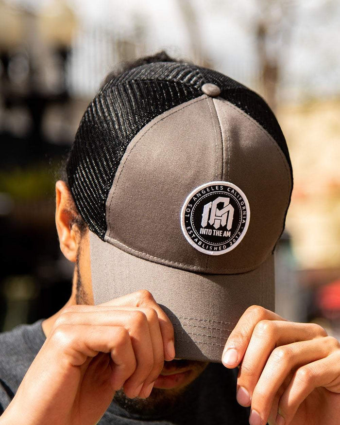 ITAM Trucker Cap-Charcoal-Lifestyle1