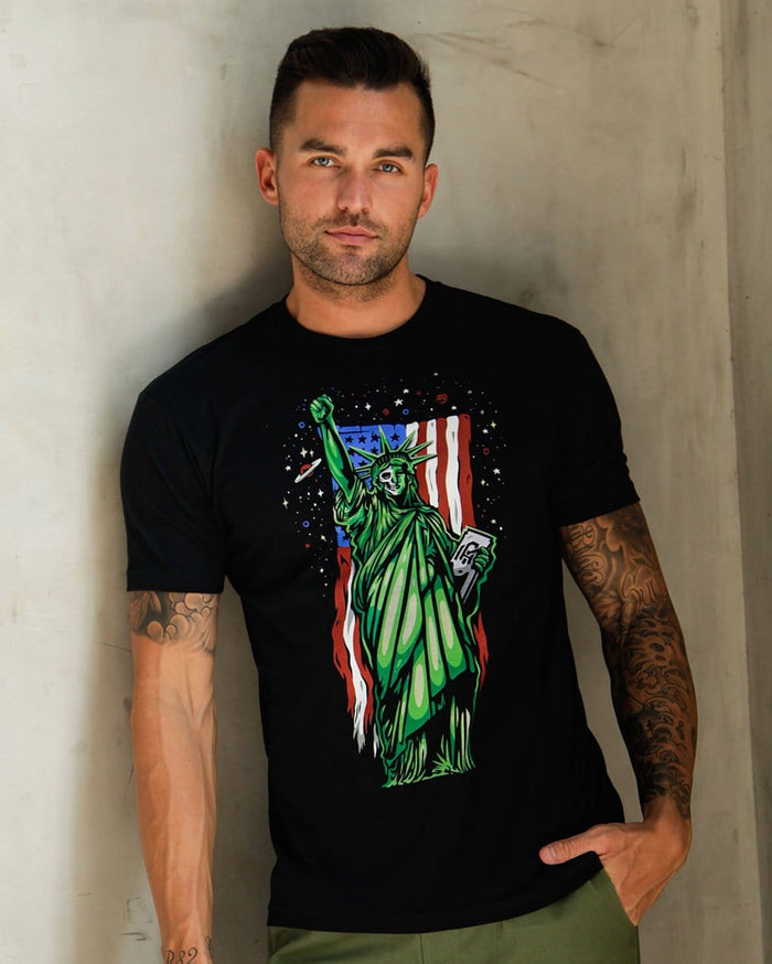 We Rise Men's Tee-Lifestyle--Zach---L
