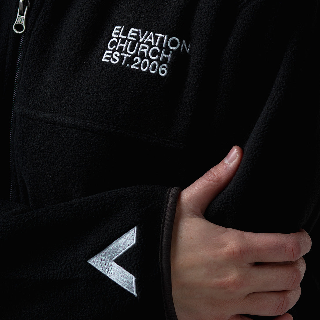 'Elevation Church' Fleece Jacket