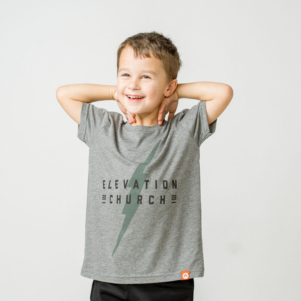 Kid's Elevation Church Lightning Bolt Tee