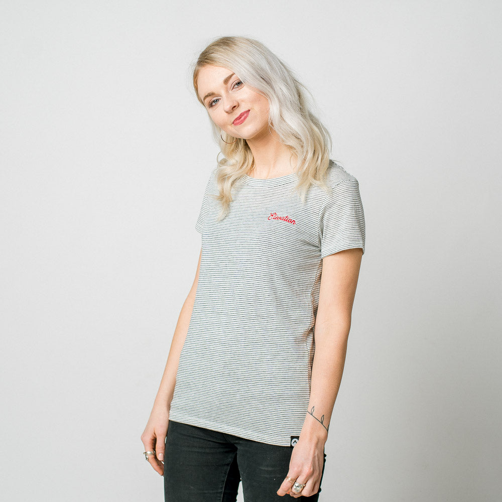 Elevation - Women's Striped Tee