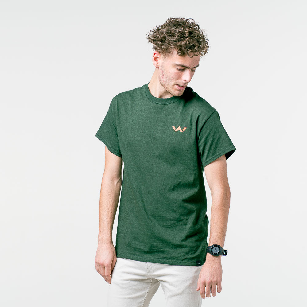 'DO IT AGAIN' green tee