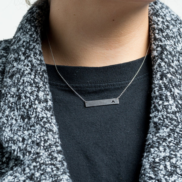 Elevation Silver Necklace