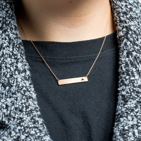 Elevation Gold Necklace