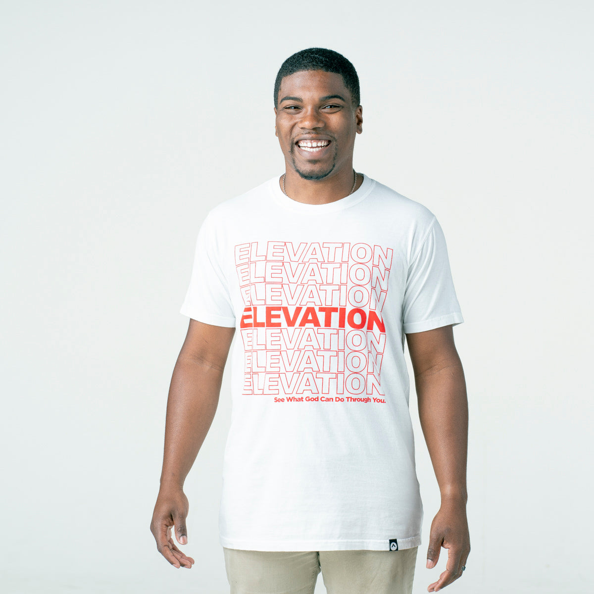'Elevation - See What God Can Do Through You.' tee
