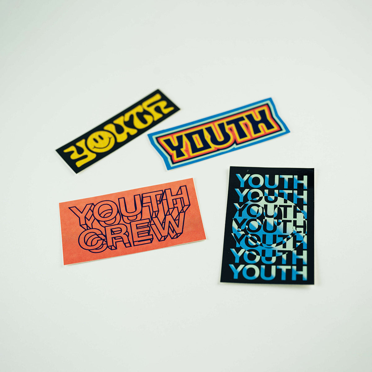 Youth Sticker Pack 1