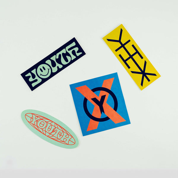 Youth Sticker Pack 2