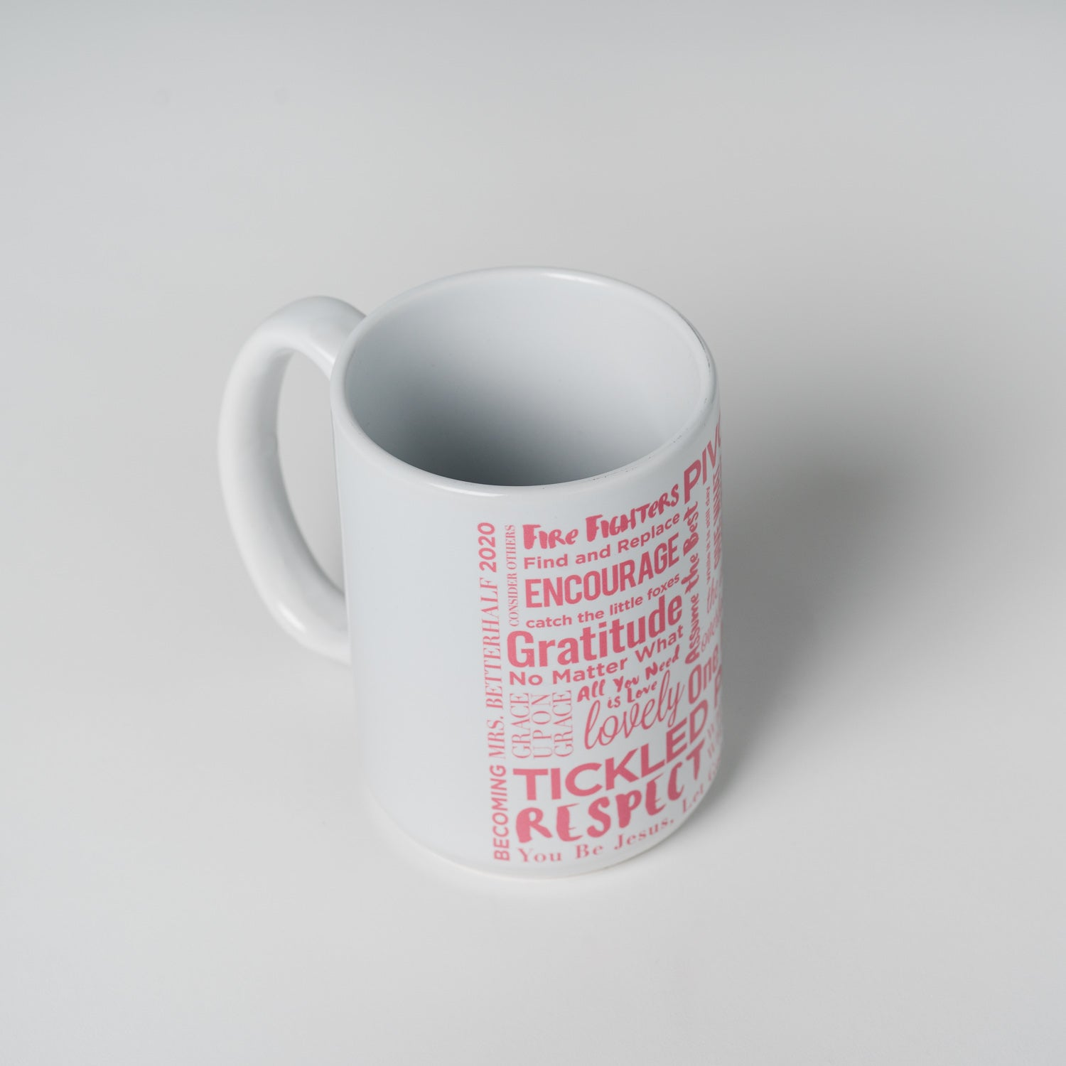 Mrs. Betterhalf Mug