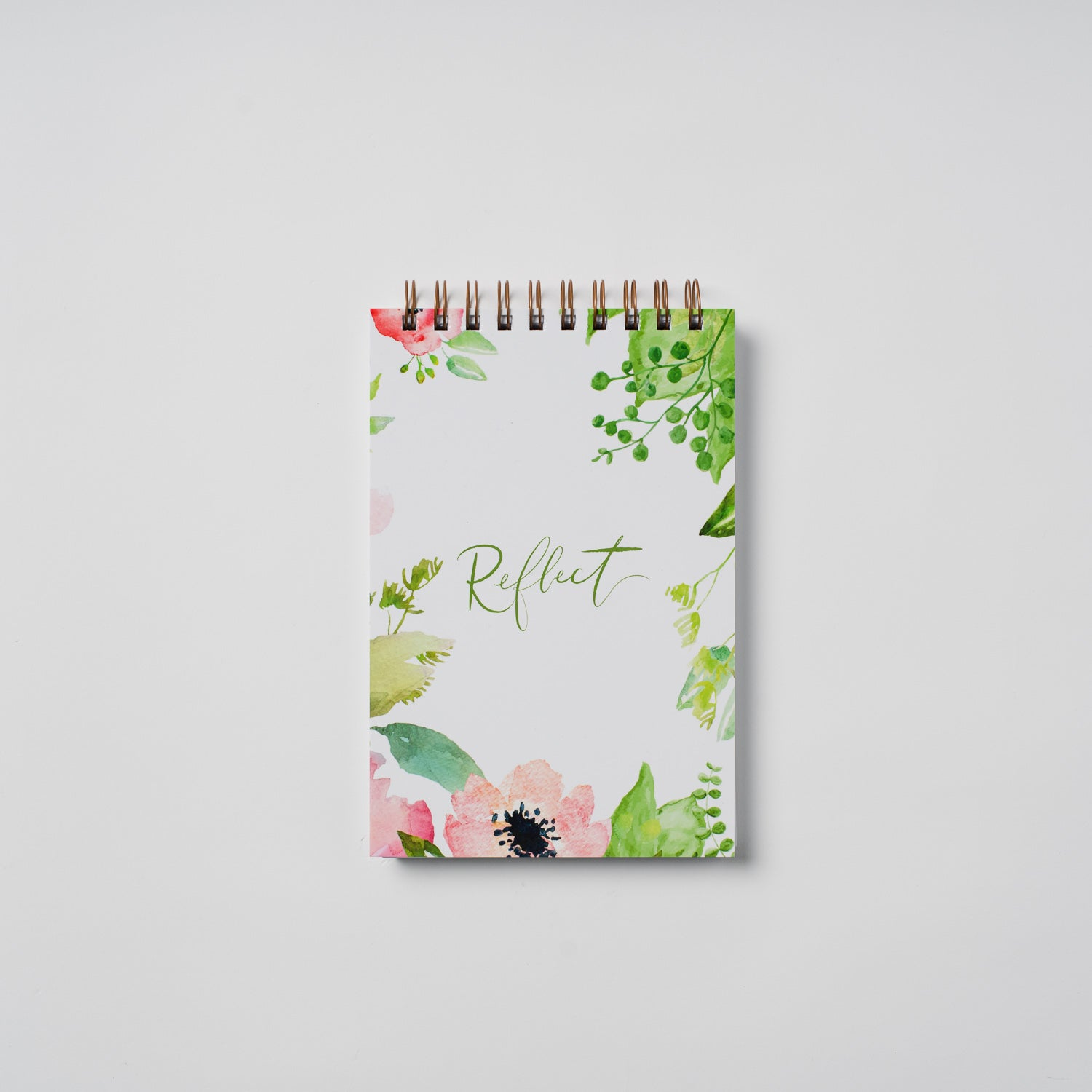 Floral 'Reflect' Journal