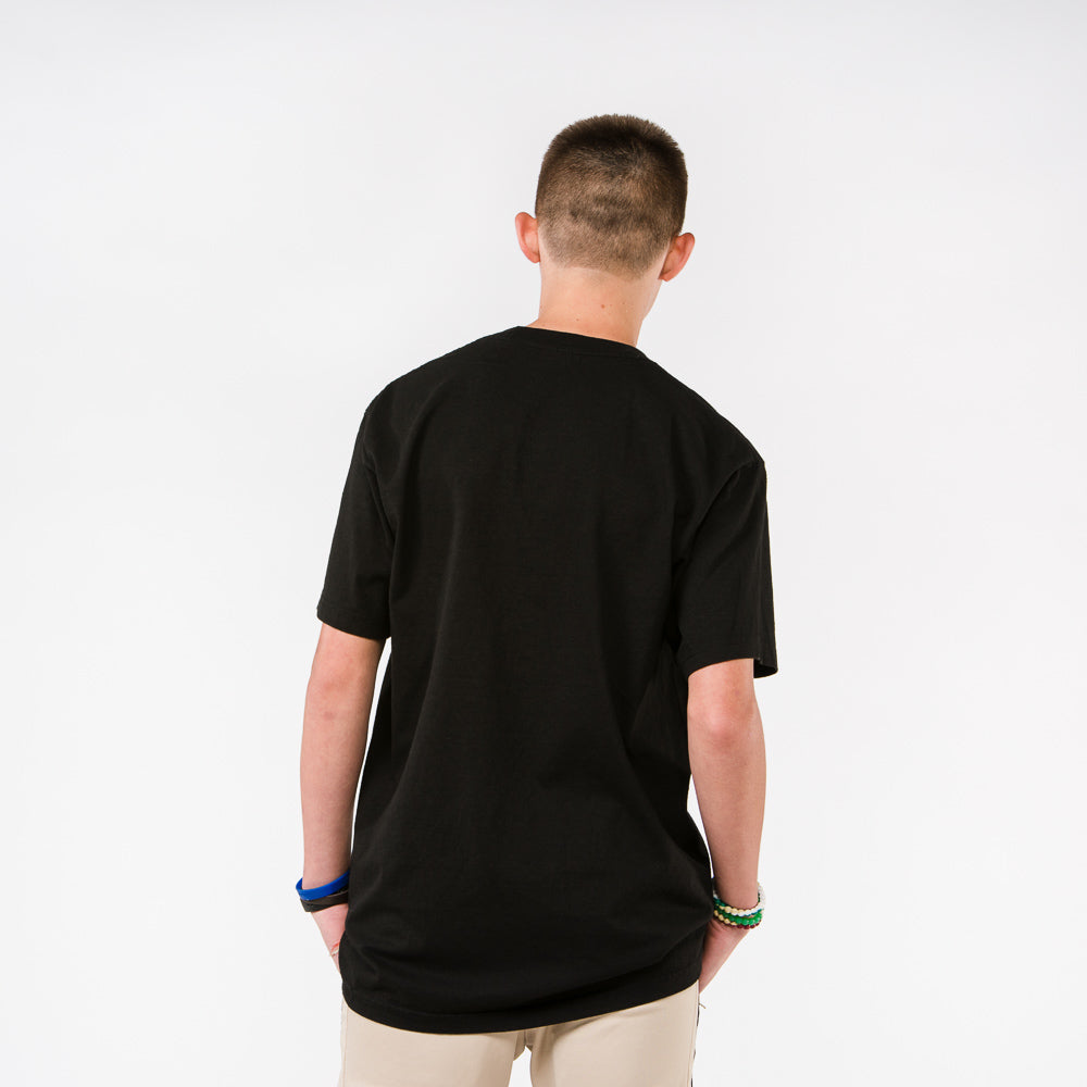 Youth Stacked Puff Print Tee