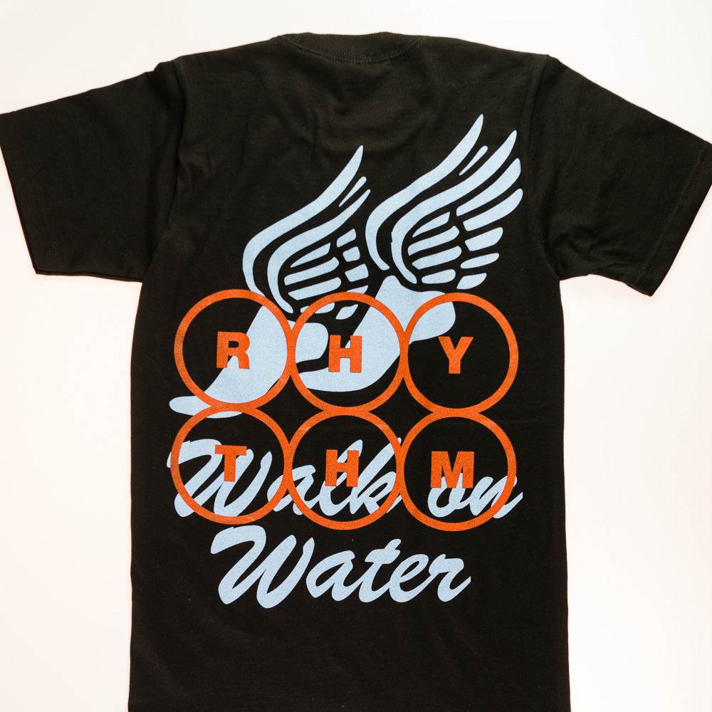 WALK ON WATER - Black Tee