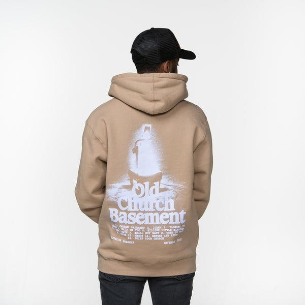 Old Church Basement Album Artwork Hoodie