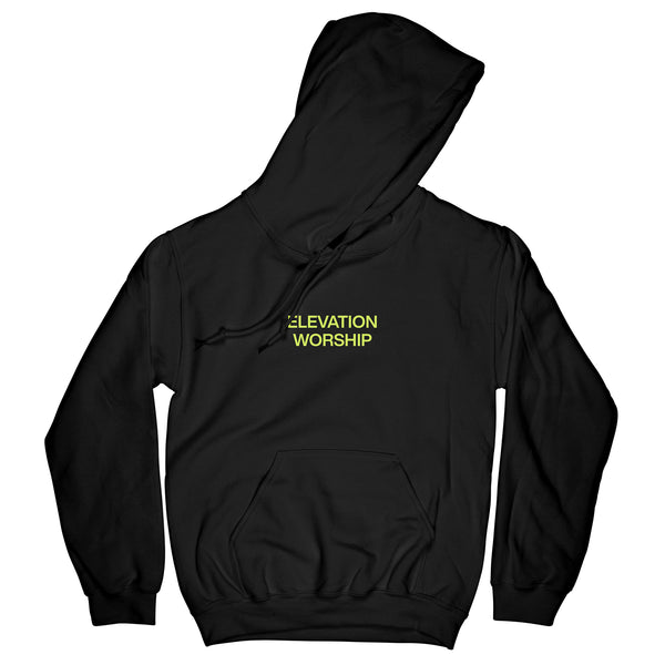 'At Midnight' Black Hoodie