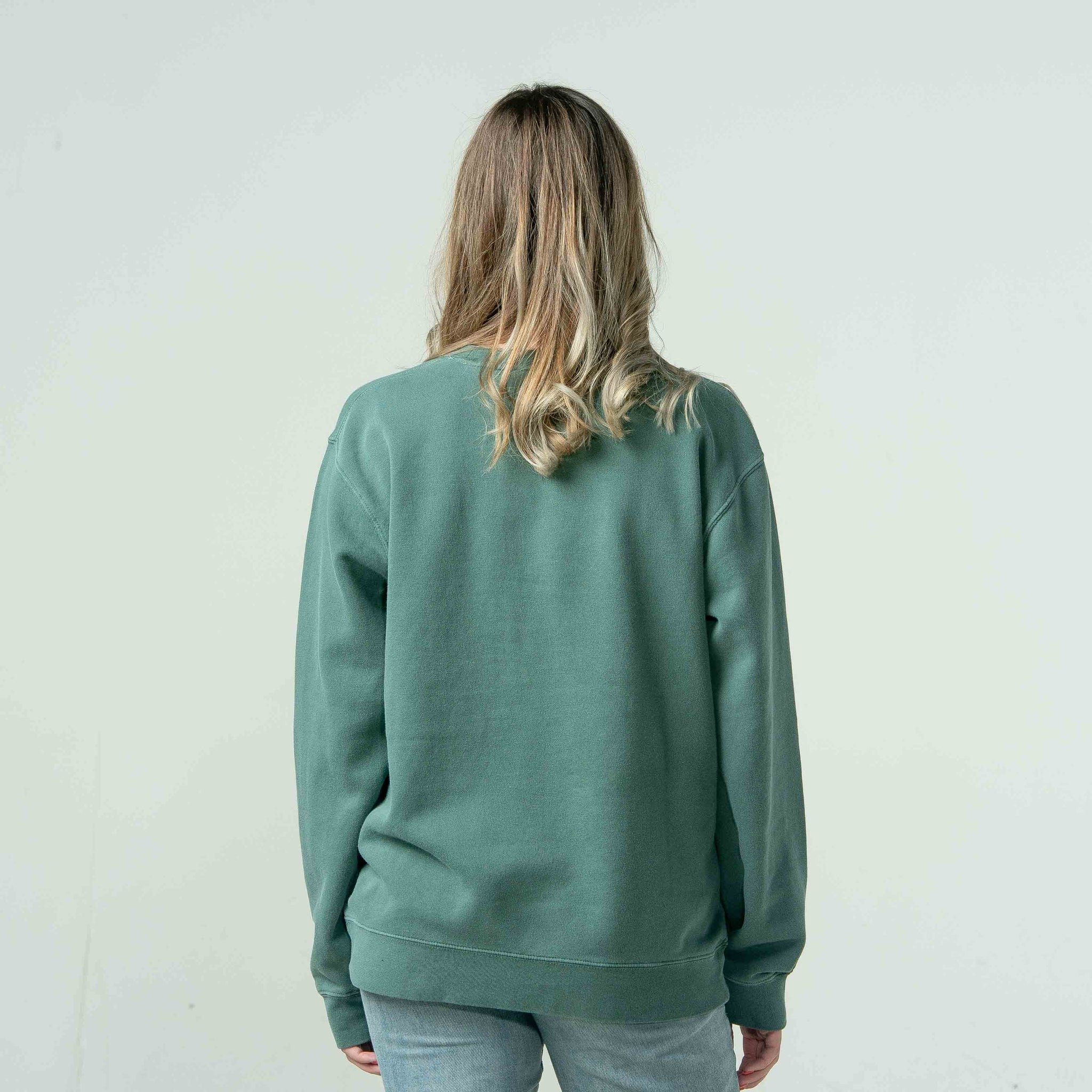 'Elevation' Pigment Dyed Sweatshirt